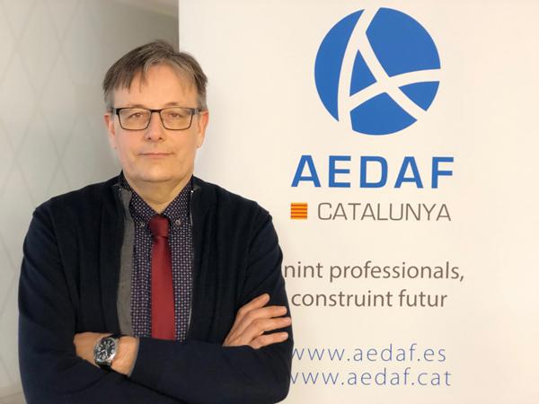 Josep Alemany, delegado territorial de AEDAF en Cataluña