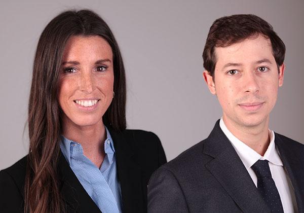 Lucía Oliveró y Alex Julià