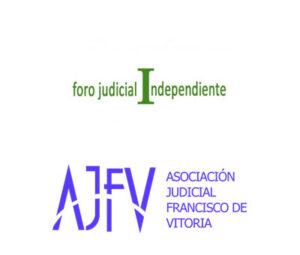 Asociación Judicial Francisco de Vitoria (AJFV) y Foro Judicial Independiente (FJI)
