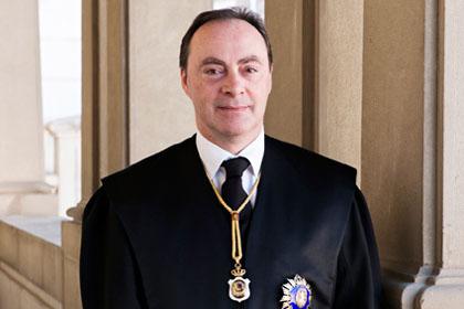 El decano Antonio Morán