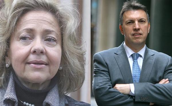 Consuelo Madrigal y Joaquim Bosch