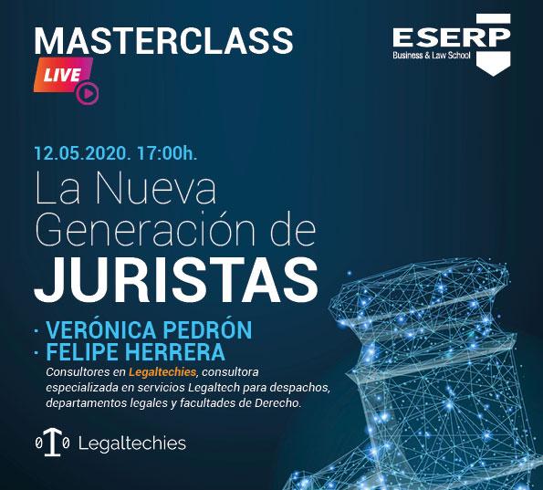 ESERP Masterclass: La nueva generación de juristas
