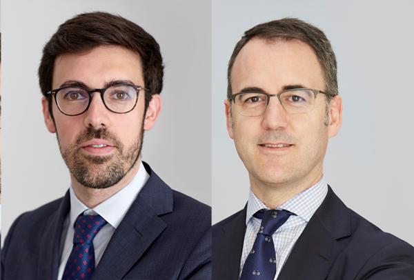 Gonzalo Fernández y Roberto Pomares