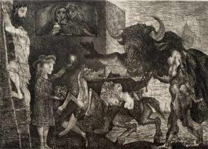 La minotauromaquia y lo oscuro