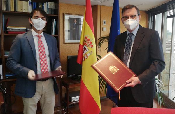 José Ángel Martínez Sanchiz y Juan Duarte Cuadrado