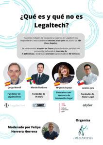 qué es y qué no es Legaltech
