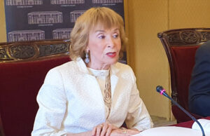 María Teresa Fernández de la Vega, presidenta del Consejo de Estado