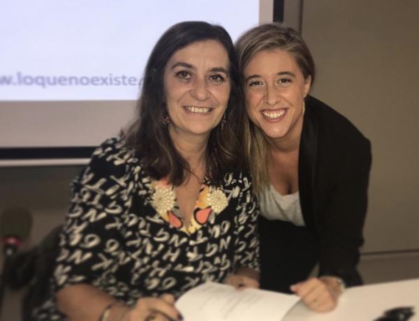 Escarlata Gutierrez y Susanna Gisbert