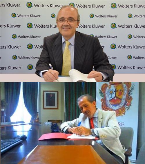 Vicente Sánchez y Francisco Javier Lara