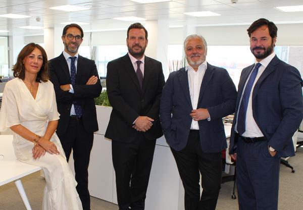 Paula Gámez, Ignacio Gordillo, Javier Fdez. Cuenca, Javier Lucas y Esteban Ceca