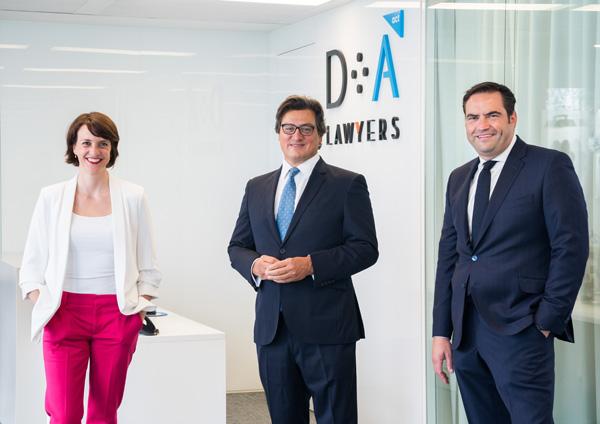 Clara Marín, Ivo Portabales y Daniel Gómez de Arriba