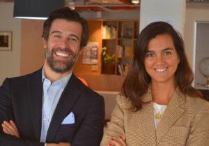 Manuel Deó y Rosa Espín, co-CEOs de Ambar