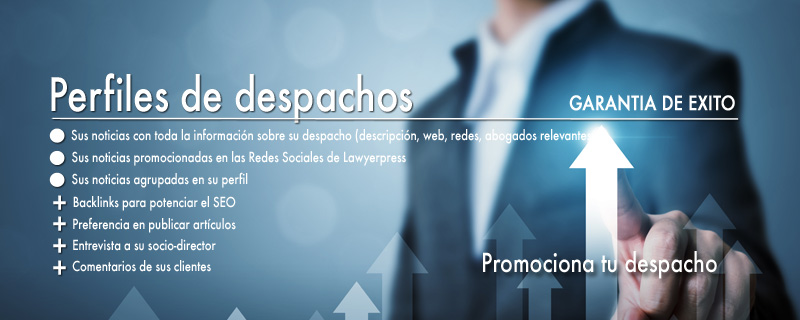 Perfil de despacho en Lawyerpress