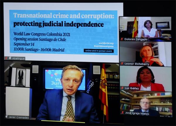 al Congreso Mundial de Derecho Colombia 2021