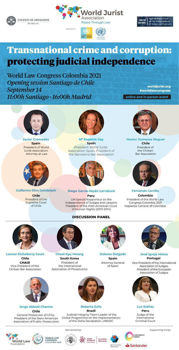 Opening Session Chile del World Law Congress 2021