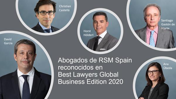 Best Lawyers RSM Spain Tax & Legal
