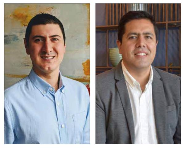 Diego Alvarez, Country Manager de Niubox Ecuador y Oscar Montezuma Panez, director y fundador de Niubox