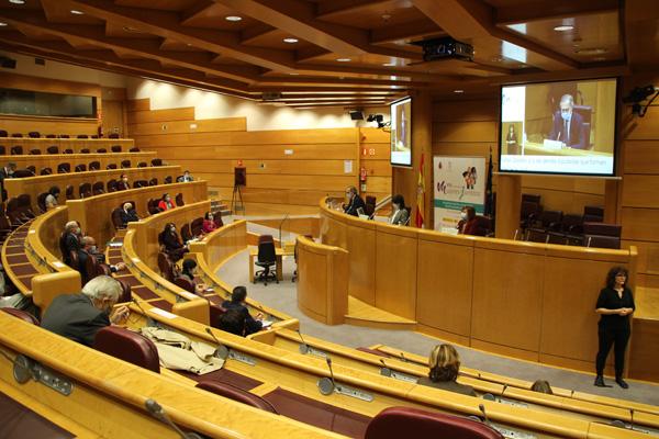 Sala Europa del Senado  VIII Cumbre de Mujeres Juristas