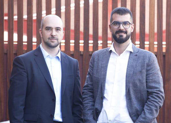Juan Zamora y Javier Martínez