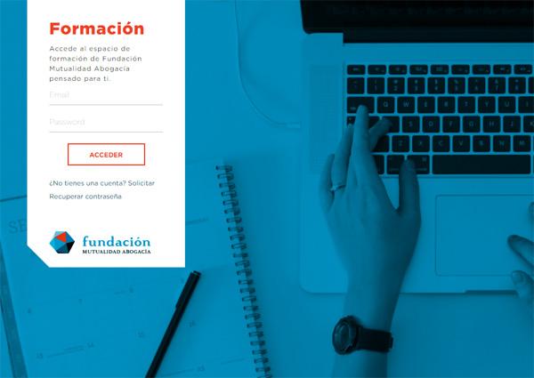 portal de formación de Fundación Mutualidad Abogacía
