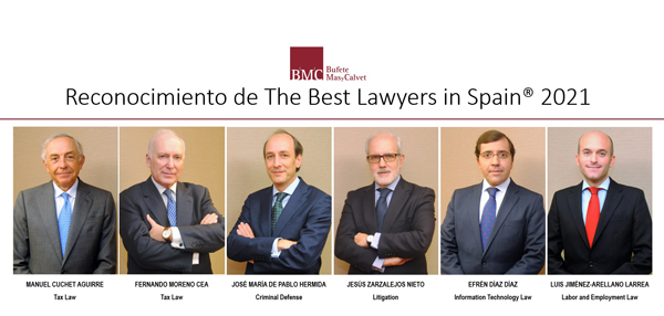 Bufete Mas y Calvet - The Best Lawyers