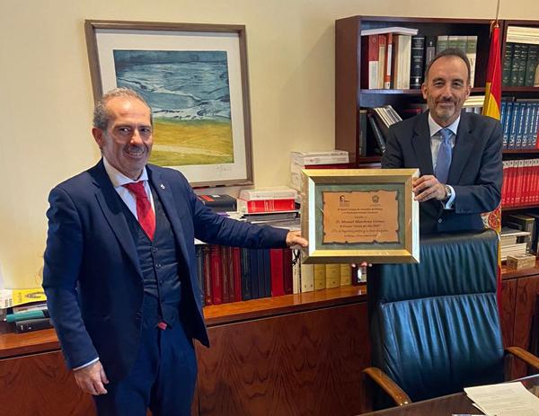 Francisco Javier Lara y Manuel Marchena