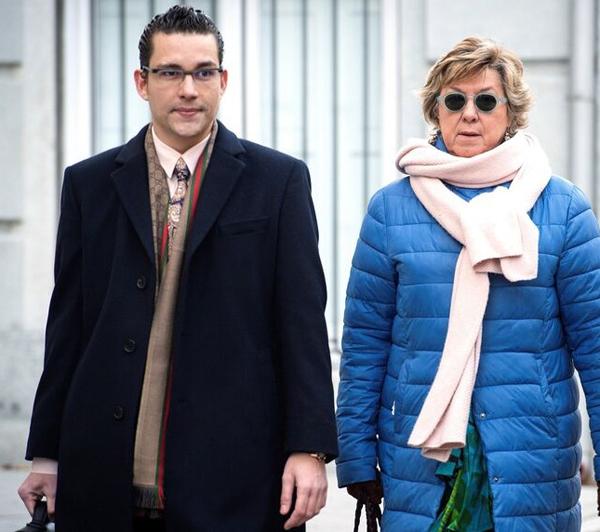 Pardo Geijo con Pilar Barreiro