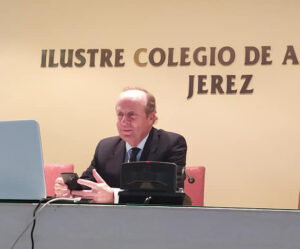 Marcos Camacho, decano del Ilustre Colegio de Abogados de Jerez