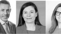 Mario Barros, Pilar Menor y Raquel Flórez