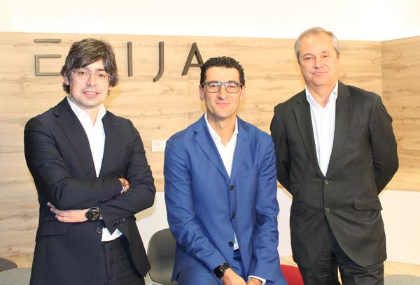 Alejandro Touriño, socio director de ECIJA, Hugo Écija, presidente y fundador de ECIJA y Pablo Jiménez de Parga, vicepresidente de ECIJA