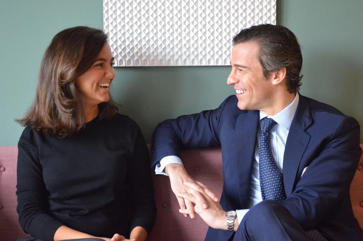 Rosa Espín y Manuel Deó, CEOs de Ambar Partners