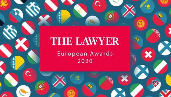 ECIJA The Lawyer European Awards 2020