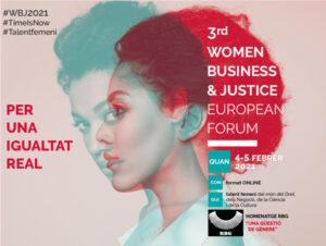 3rd Women Business & Justice European Forum