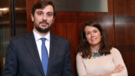 Guillermo Bueno y Clara Mañoso