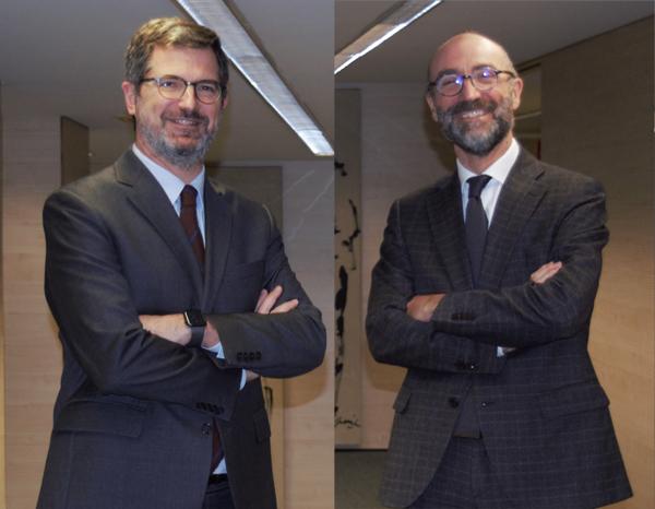 Joan Roca, presidente ejecutivo de Roca Junyent y Gregorio Cascane, Director General de Daleph