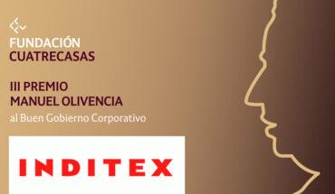III Edición del Premio Manuel Olivencia INDITEX