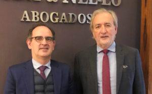 Jacobo Ollero, socio responsable del despacho de Madrid de Toda & Nel-lo, y José María Beneyto