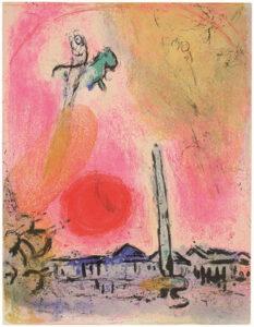 Place de la Concorde, Marc Chagall