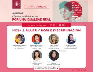 Mujer doble discriminación