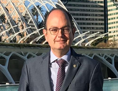 Agustín Ferrer, presidente de la Abogacía Valenciana