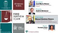 Manuel Giménez Rasero Foro Justicia ICAM