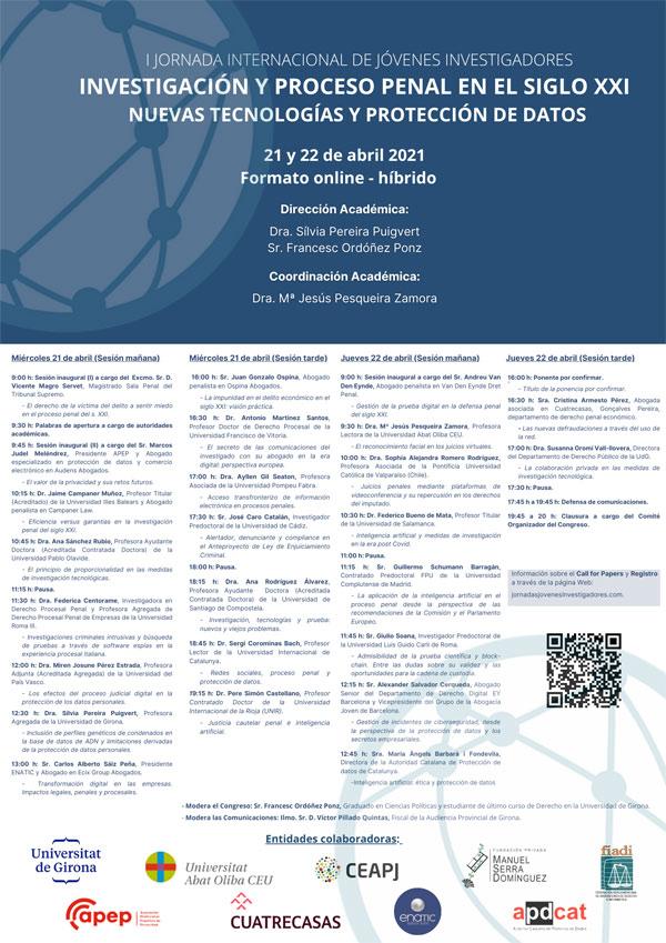 I Jornada Internacional de Jóvenes Investigadores en derecho procesal