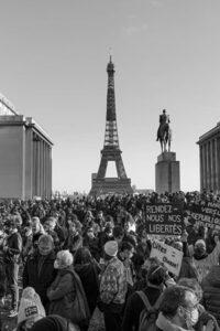 Manifestaciones del 21 de noviembre de 2020 en París