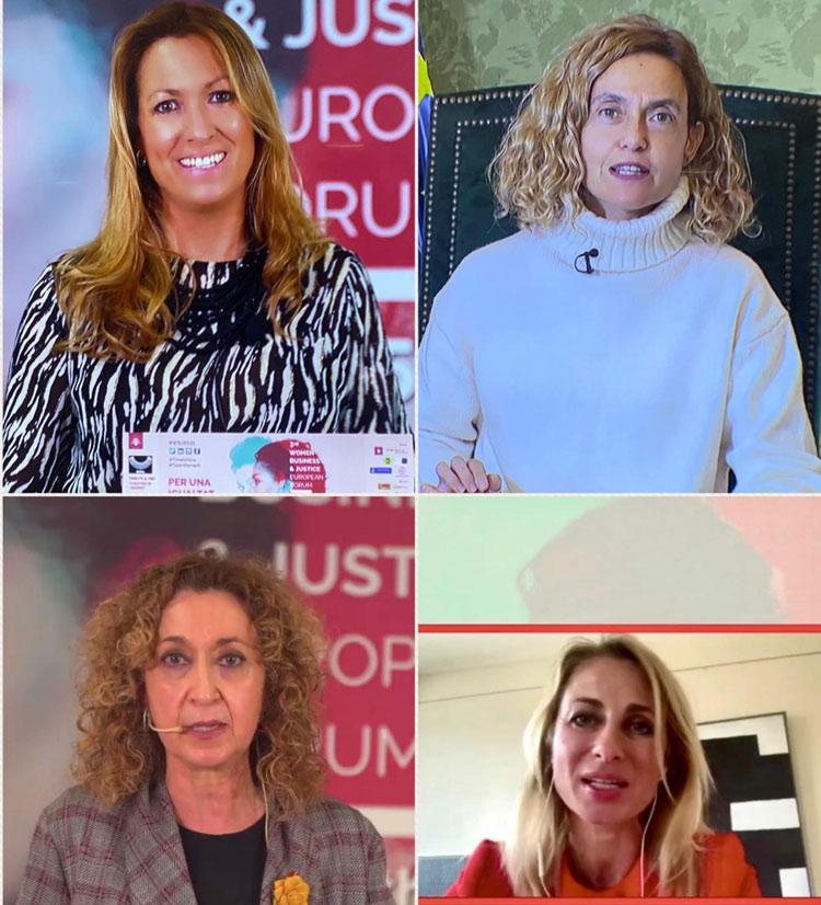 Inauguración '3rd Women Business & Justice European Forum'