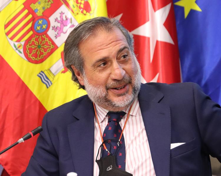 El presidente de la Cámara de Comercio de Madrid, Ángel Asensio