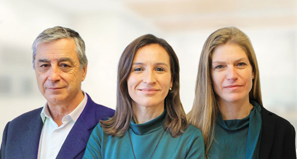 Agusti Bou, Elisa Escola y Laila Folguera