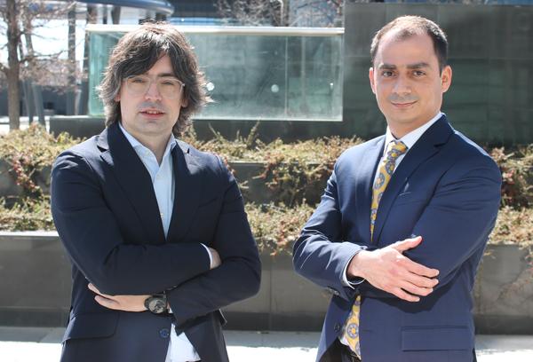 Alejandro Touriño, socio director de ECIJA y Paul Handal socio de ECIJA Tech