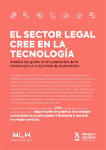 Informe - El sector legal cree en la tecnología