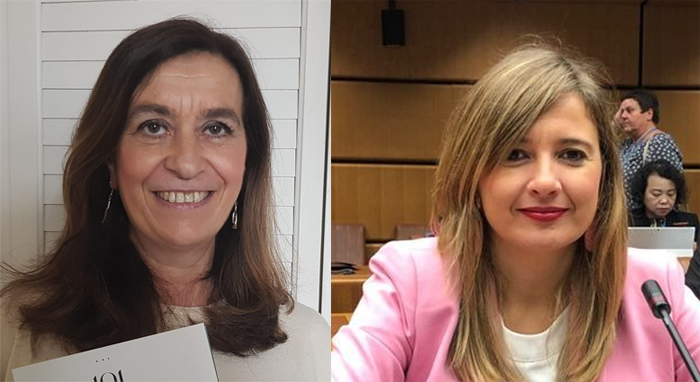 Susana Gisbert y María Gavilán