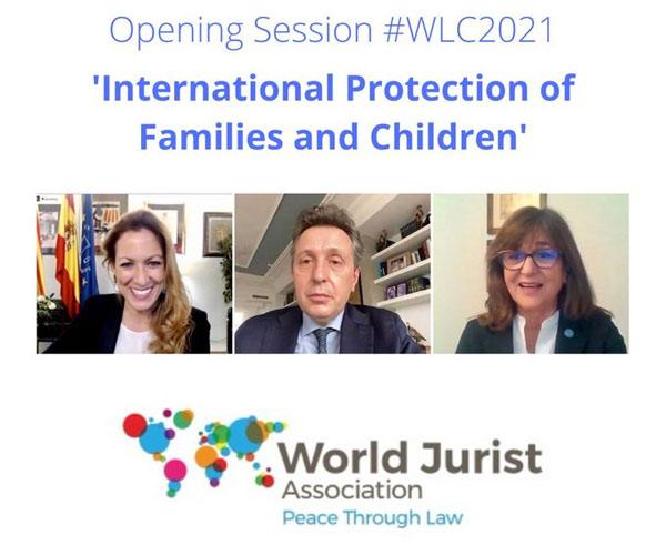 Opening Session Estrasburgo. World Law Congress Cartagena